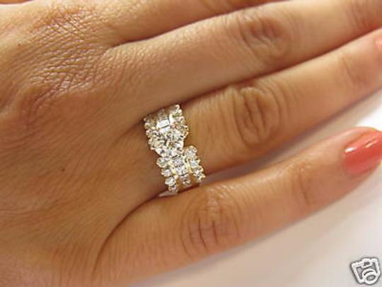 Other 14Kt Round Engagement Solitaire with Accents Diamond Yellow Gold Ring Image 5
