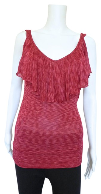Preload https://img-static.tradesy.com/item/21107468/cache-red-knit-blouse-size-6-s-0-1-650-650.jpg