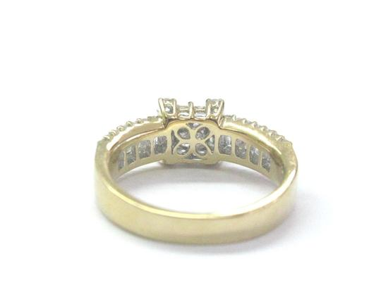 Other 18Kt Princess Round & Baguette Diamond Yellow Gold Ring 1.05Ct Image 2