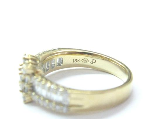 Other 18Kt Princess Round & Baguette Diamond Yellow Gold Ring 1.05Ct Image 3