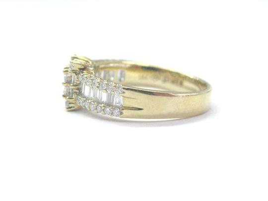 Other 18Kt Princess Round & Baguette Diamond Yellow Gold Ring 1.05Ct Image 4