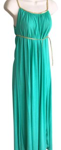 Turquoise (listed as green on tag) Maxi Dress by Anama