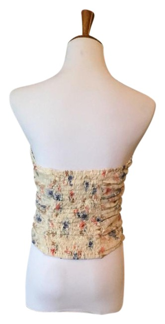Pins and Needles Floral Crop Lace Crop Top beige Image 1
