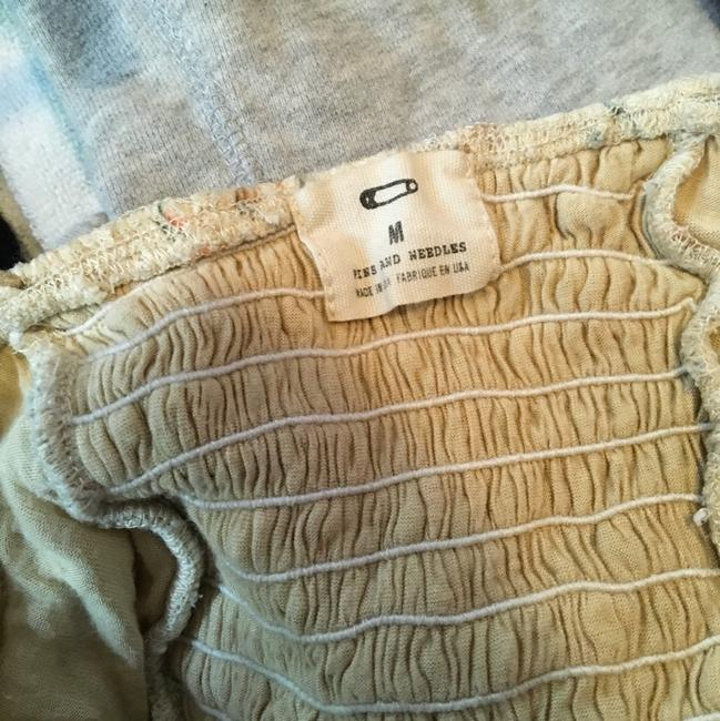 Pins and Needles Floral Crop Lace Crop Top beige Image 4