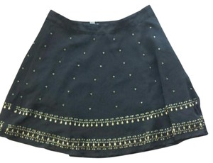 Urban Outfitters Mini Skirt black beaded