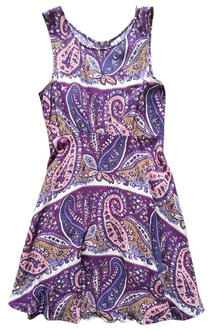 Preload https://img-static.tradesy.com/item/21107931/free-people-mauve-plum-paisley-fit-and-flare-short-casual-dress-size-2-xs-0-1-650-650.jpg