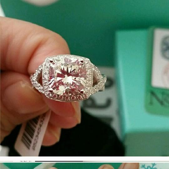 Nscd 3.85 Cushion Diamond Proposal Engagement All Size Ring Image 2