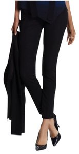 Elie Tahari Ankle Formal Stretchy Skinny Pants Black