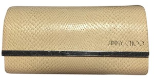Jimmy Choo Sunglasses case, faux snakeskin hard case