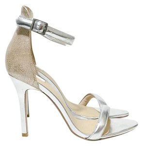 Other Silver, Nude Sandals