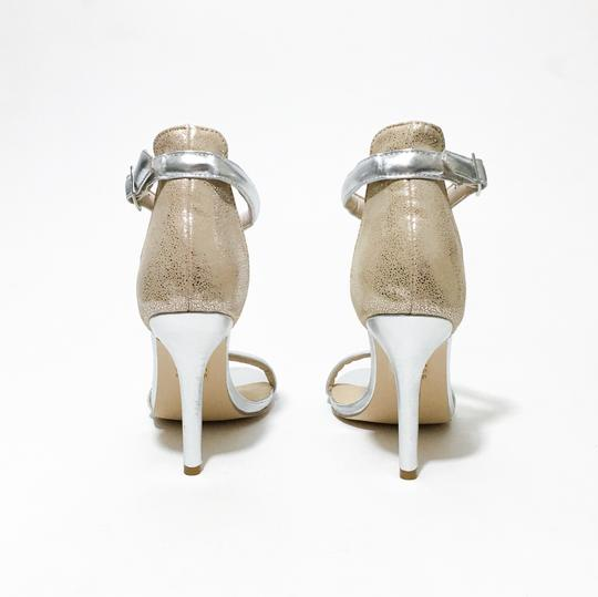 Other Silver, Nude Sandals Image 2
