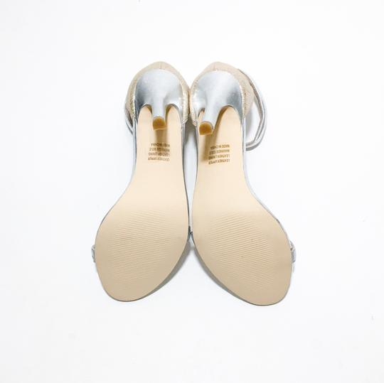 Other Silver, Nude Sandals Image 3