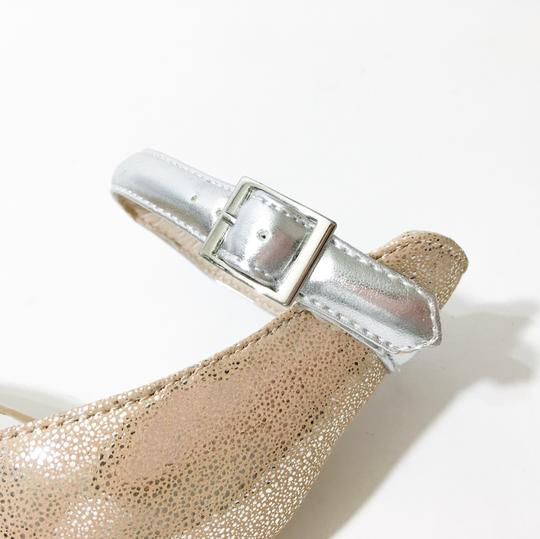 Other Silver, Nude Sandals Image 8