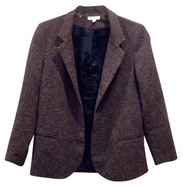 Preload https://img-static.tradesy.com/item/2110809/silence-noise-brown-marl-open-front-blazer-size-4-s-0-0-650-650.jpg