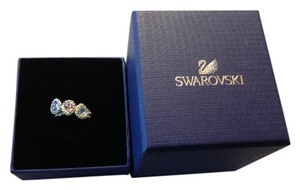 Swarovski NWT SWAROVSKI CHRISTIE RING SET LMUL/RHS Model 5113887 Size 55