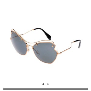 68f5e760cc1 Blue Miu Miu Sunglasses - Up to 70% off at Tradesy