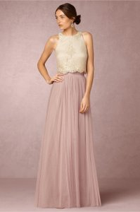 BHLDN Ivory Bhldn's Donna Morgan Bea Top Dress