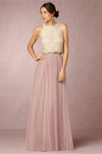 BHLDN Ivory Bhldn's Donna Bea Top Formal Bridesmaid/Mob Dress Size 2 (XS)