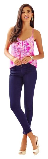 Preload https://item1.tradesy.com/images/lilly-pulitzer-navy-234567-skinny-pants-size-00-xxs-24-21108820-0-1.jpg?width=400&height=650