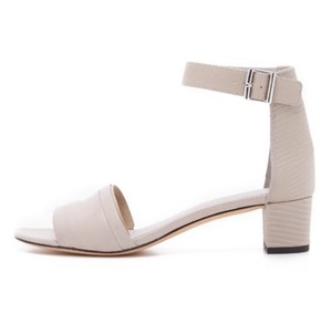 Vince Women's Leather Gray Sandals