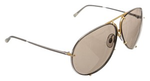 PORSCHE DESIGN Carrera Porsche Design Silver Gold Frame Removable Lenses Sunglasses 5