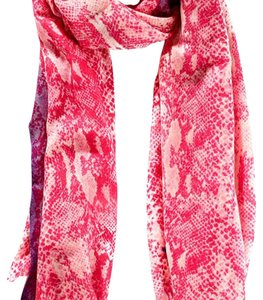 Juicy Couture NWOT Juicy Couture Pink Purple Python Print Scarf