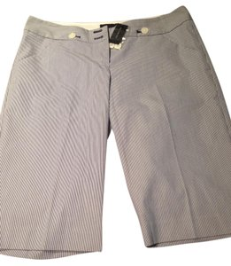 The Limited New Long Bermuda Shorts Blue/White