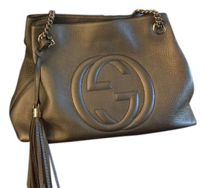 Gucci Gold Only Worn Once Box Soho Shoulder Bag