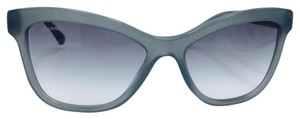 Chanel Chanel Green Gradient Quilting Square Sunglasses 5330 c.1531/S3 56