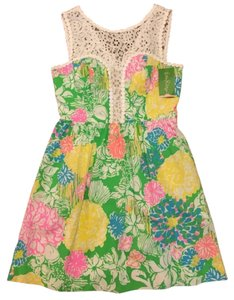 Lilly Pulitzer short dress hibiscus stroll on Tradesy