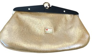 Love Moschino Gold Clutch