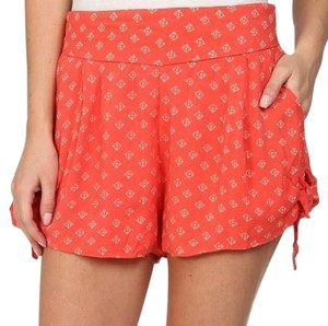 Free People Mini/Short Shorts coral