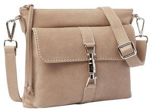 Roots Villager Tribe Leather Shoulder Bag