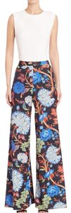 Alice + Olivia + High Waisted Wide Leg Pants Colorful
