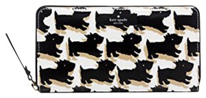 Kate Spade Scottie Dog Neda Zip Around Wallet