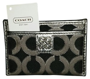 Coach 1941 Coach Metallic card wallet