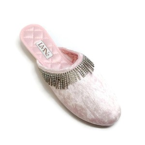 Luxe me now pink Flats