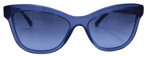 Chanel Chanel Blue Gradient Quilting Sunglasses 5330 c.1543/S2 56