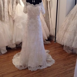 Casablanca Ics 2119 Formal Wedding Dress Size 10 (M)