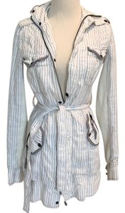 Free People Linen/Cotton Trench