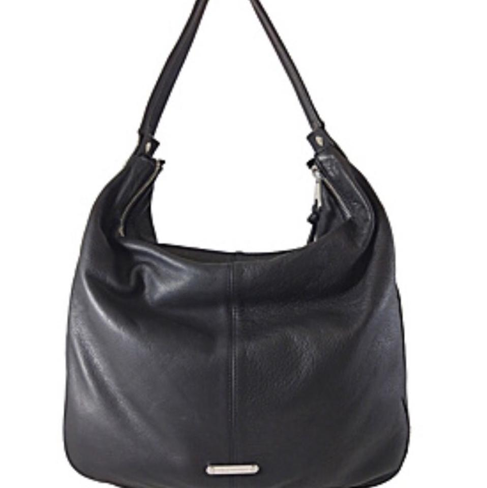Joelle Hawkens by Treesje Harper Black Leather Hobo Bag - Tradesy f729b29ae3332