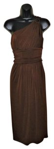Maggy London Stretchy Cocktail One Pleated Dress