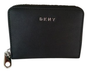 DKNY Small Black Nappa Leather Wallet