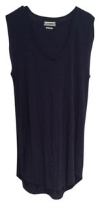 Aritzia short dress Navy on Tradesy