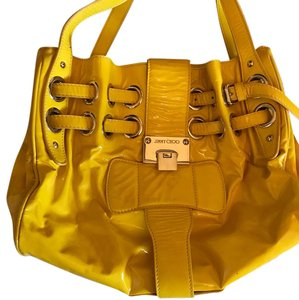 Jimmy Choo Satchel in Yellow