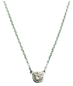 Tiffany & Co. BEAUTIFUL Tiffany & Co. Diamonds By The Yard Pendant Necklace
