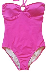 Ralph Lauren PInk one piece with gold accent