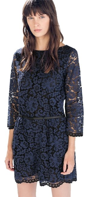 Preload https://item2.tradesy.com/images/zara-blue-new-tags-lace-above-knee-romperjumpsuit-size-0-xs-2111066-0-0.jpg?width=400&height=650