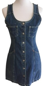 Pepe Jeans short dress Blue Vintage Denim Summer on Tradesy