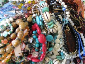 Other Vintage Big Lot vintage to now 8 lbs Wearable 78 Necklaces